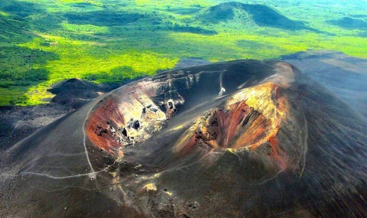 Vulcano-Cerro-Negro Nicaragua